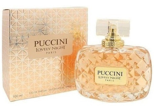 Puccini Lovely Night Paris Feminino De Puccini Eau De Parfum