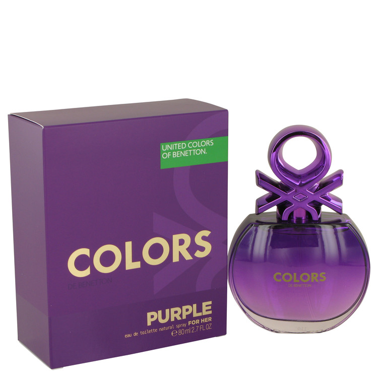Benetton Colors Purple Eau De Toilette Feminino