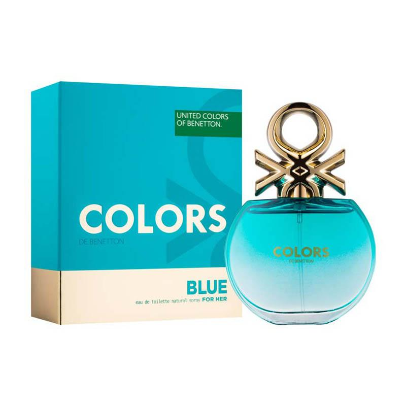 Benetton Colors Blue Eau De Toilette Feminino