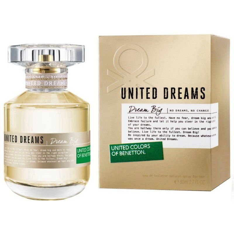 United Dreams Stay Positive By Benetton Feminino Eau De Toilette