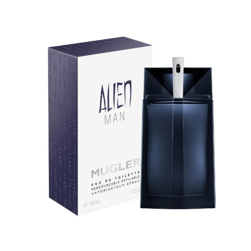 Alien Man Mugler Eau De Toilette Refillable Masculino 50ml
