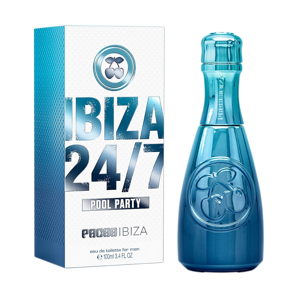 PERFUME PACHA IBIZA POOL PARTY MASCULINO EAU DE TOILETTE