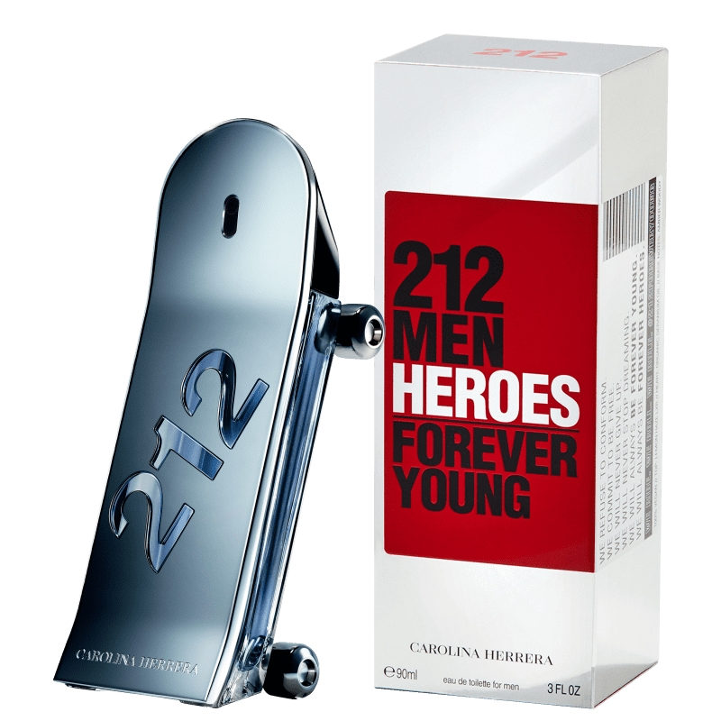 212 Men Heroes Carolina Herrera Eau De Toilette